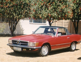 1971  Mercedes Benz 350 SL (3,5l)